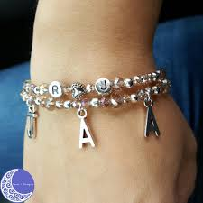 initials bracelet child initials bracelet j designs