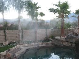 misting fans vs misting system modern misting systems for palm