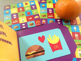 mcdonalds gift card discount mcdonald s gift card giveaway happy meal with cuties any tots