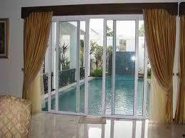 Sliding Glass Door Curtains Catchy Sliding Glass Door Curtains With Curtains For Patio Doors