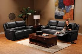 Black Leather Reclining Sofa And Loveseat Living Room Amazing Black Leather Reclining Loveseat Split Seat