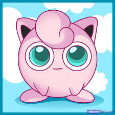 how to draw jigglypuff step by step pokemon characters anime