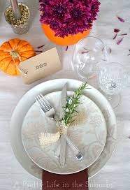 Simple Thanksgiving Table Settings Simple Ideas For A Thanksgiving Table Setting A Pretty Life In