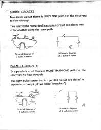 component example of a parallel circuit what are some real life