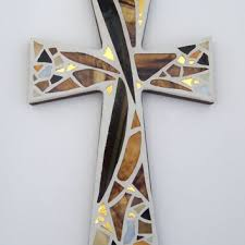 wall crosses best stained glass wall cross products on wanelo