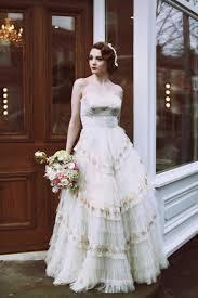 tiered wedding dress love my dress uk wedding blog