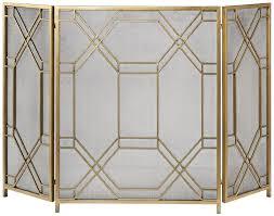 gold room divider amazon com uttermost 18707 rosen 52 5