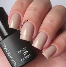 the clockwise nail polish sensationail taupe tulips review gel