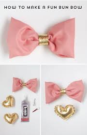how to make hair bow how to make a bun hair bow the alison show