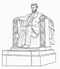 lincoln coloring pages lincoln memorial coloring page photos coloring lincoln memorial