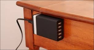 Diy Nightstand Charging Station How To Add A Charging Station To Your Nightstand Without Ruining It