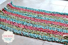 How To Rag Rug Majestic Looking Making Rag Rugs Modest Decoration Cievi Home