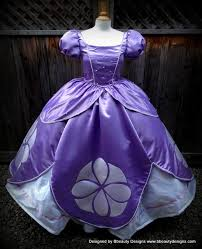 sofia princess inspired dress gown size