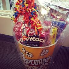 popcorn maker target black friday movie night silent auction basket get a 5 dollar movie from