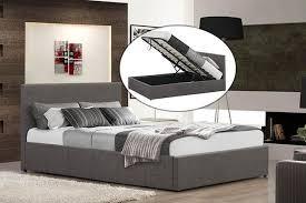 impressive double ottoman storage bed birlea black ottoman bed 4ft