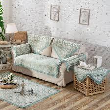 couvre canapé nouveau vert europe style housse de canapé accoudoir housse chenille