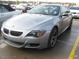 2007 bmw m6 horsepower 2007 silver grey metallic bmw m6 coupe 24140925 gtcarlot com