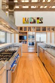 oak kitchen cabinets with stainless steel appliances 75 beautiful kitchen with light wood cabinets and stainless