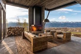Contemporary Cabin Contemporary Mountain Cabins Mountain Cabins