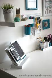 Diy Desk Organizer Ideas 18 Diy Desk Organizers Organization Ideas My More In Order