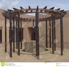 circular wooden trellis stock photos image 12928573