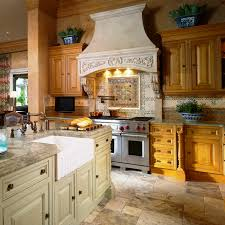 Interior Design Kitchens 2014 Light Brown Granite Material That Is Smooth Shiny Black Spots On