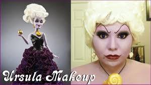 ursula disney villain designer doll makeup bloopers youtube