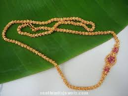 necklace link patterns images Imitation chains with side mogappu pusthal thadu pinterest jpg