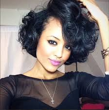 jet black short hair perfect short hairstyles to style for date nights