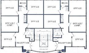 floor plan for office building 17 genius two story office building plans house plans 57064