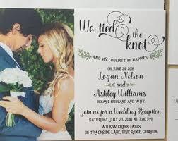 wedding announcement cards best 25 elopement announcement ideas on elopement