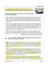 ks3 research skills teachit english