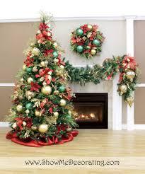 gold christmas tree garlands u2013 happy holidays