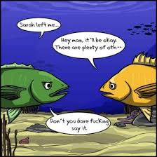 Fish In The Sea Meme - there are plenty of other fish in the sea meme guy