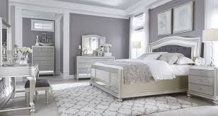 silver bed signature design by ashley coralayne silver bedroom set