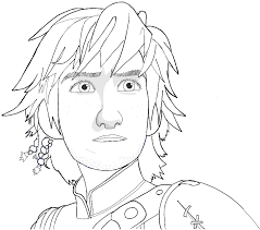 draw hiccup train dragon 2 easy steps