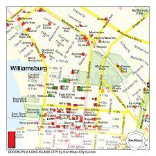 williamsburg map city guide by maps