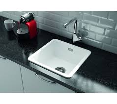 Metro By Thoms Denby MET  Bowl Ceramic Sink Universal - Fitting a kitchen sink