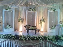 party wedding simple marriage stage decoration images with flowers