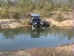 jeep snorkel underwater jeep rubicon deep water crossing youtube