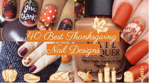40 and easy thanksgiving nails 2017 nailspiration