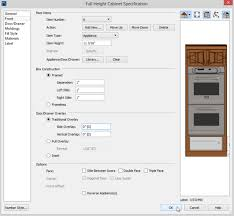 placing multiple appliances in a single cabinet in home designer pro