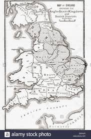 Hastings England Map by Map Of England Showing The Anglo Saxon Kingdoms And Danish