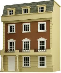 Free Miniature Dollhouse Plans Beginner by Dolls House Kit Ebay