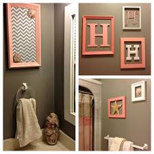 Beach Bathroom Decor Ideas Colors Best 25 Coral Bathroom Decor Ideas On Pinterest Coral Bathroom