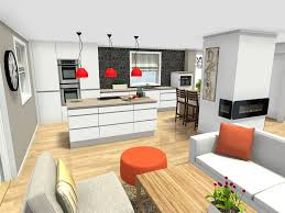 Center Island Kitchen Designs Plan Your Kitchen Design Ideas With Roomsketcher Roomsketcher