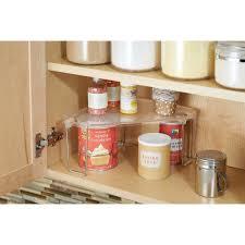 Kitchen Cabinets For Corners Amazon Com Interdesign Linus Corner Storage Shelf For Kitchen
