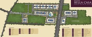 Centre Bell Floor Plan by Rachana Bella Casa In Sus Pune Price Location Map Floor Plan