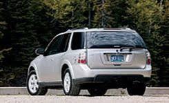 Saab 9 7x Interior Saab 9 7x First Drive Review Reviews Car And Driver