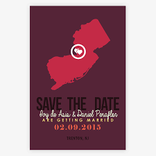 wedding invitations nj state wedding invitations save the date new jersey